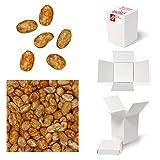 Bulk Gourmet Emporium - Caja a granel de cacahuetes tostados al horno con chile picante, producto vegetariano, halal y sin envase de plástico, 350 g