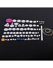 Juego de engranajes de plástico juego de poleas para correas dentate Juego de engranajes Corona Juego de engranajes para coches<br/>(85kinds)