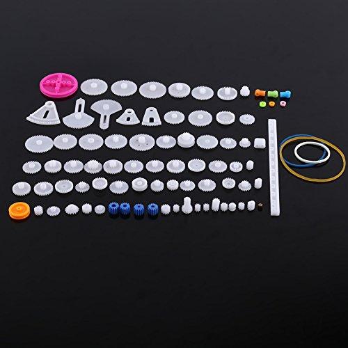 Set di ingranaggi in plastica Set di pulegge per cinghie dentate Set di ingranaggi corona Set di ruote dentate per automobili<br/>(34kinds) (85kinds)