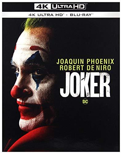 Joker 4K UHD [Blu-Ray] [Region Free] (Deutsche Sprache. Deutsche Untertitel)