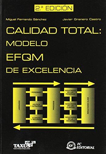 Calidad total. Modelo EFQM de excelencia de Miguel Ferrando Sánchez (23 jul 2009) Tapa blanda