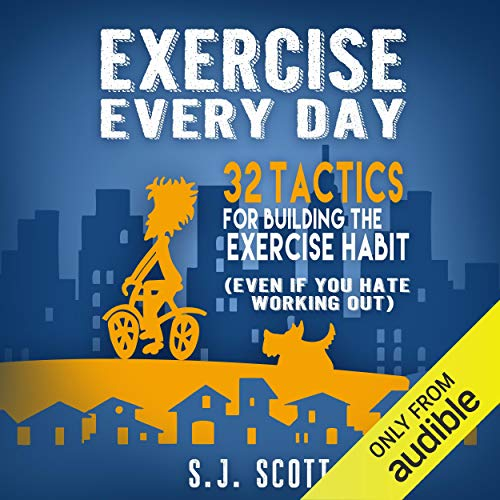 Exercise Every Day audiobook cover art