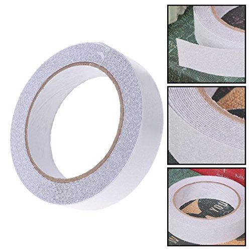 Youlin - Bandas Antideslizantes Transparentes, PVC, 500 x 2,5 cm, Cinta Adhesiva Antideslizante para la Seguridad, para bañeras y Piscinas