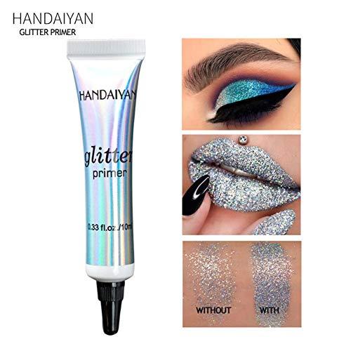 Glitter Primer für Eyes & Lips - Glitter glitzern und langlebig machen - Lidschatten-Basis