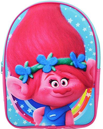 Trolls Backpack Kinder-Rucksack, 32 cm, 66 liters, Pink