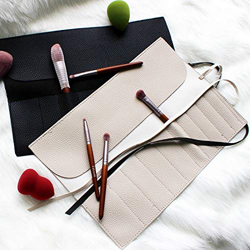 AGBFJY Cosmetic Bag Makeup Brushes Case Portable Bag for Make Up Brush Travel Organizer Rolling Pouch Holder Professional Beauty Tool