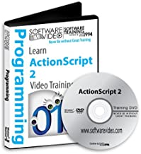 ADOBE ACTIONSCRIPT 2 Training DVD Sale 60% Off training video tutorials DVD Over 6 Hours of Video Training