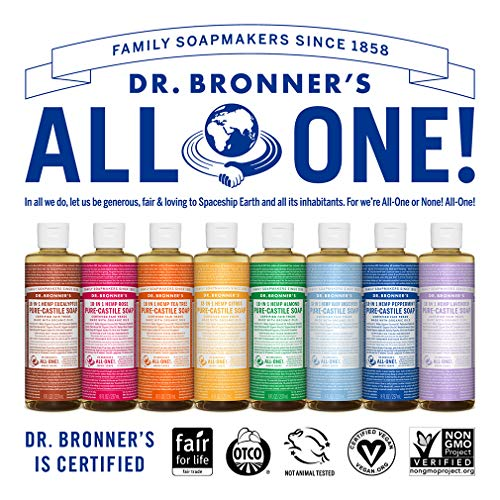 Dr. Bronner's Magic Soap Organic Citrus Orange Oil Castile Soap, 236-Milliliter