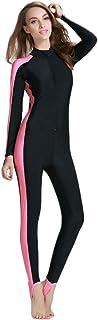 بدلة سباحة من Micosuza للسيدات بتصميم قطعة واحدة بأكمام طويلة