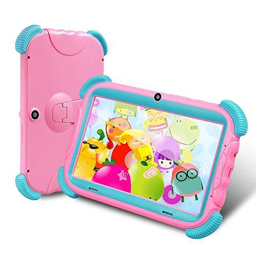 LUFKLAHN 7 Pulgadas de la Tableta de Aprendizaje de los niños, Pantalla IPS, Curso en línea de la Tableta ( Color : B )