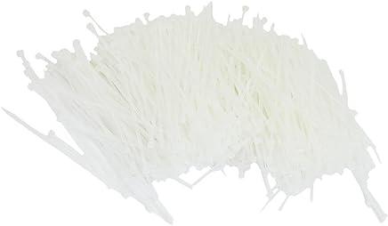 100 x White Cable Ties 100Mm X 2.5Mm Zip Ties