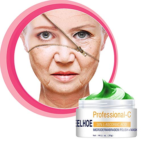 Glueckme Hautaufhellungscreme, Dunkle Flecken Sommersprossen Entferner, Gesichtsaufhellende Anti-Aging-Creme, Anti-Aging-Faltencreme