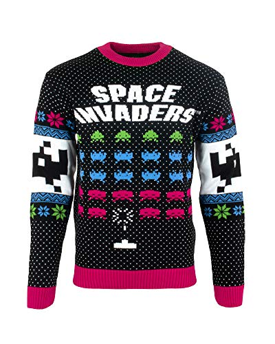 Official Space Invaders Ugly Christmas Sweater for Men Or Women