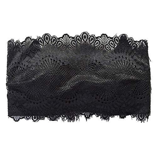 Kanten BH Strapless Ondergoed Comfortabel Ademend Elastisch Verstelbaar Haakslot voor Dames