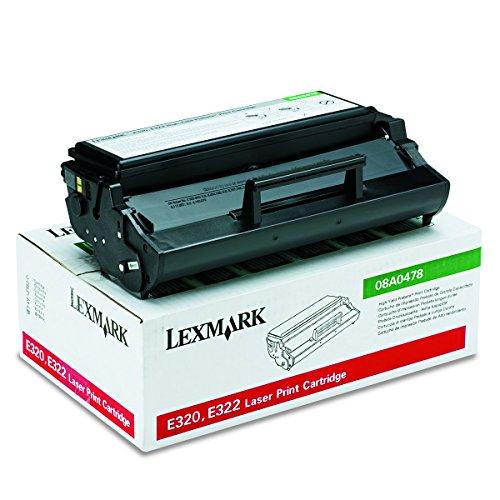 Lexmark 08A0478 - Tóner, color negro