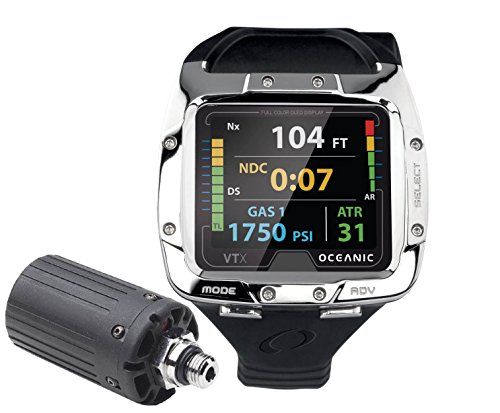 Oceanic VTX OLED Complete Scuba Computer with Transmitter