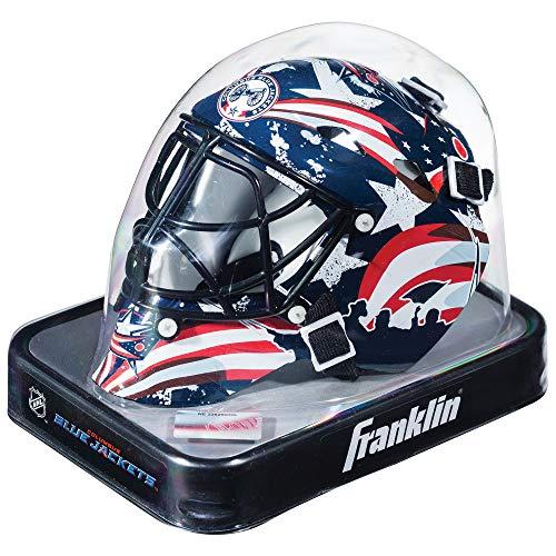 Franklin Sports Eishockey-Sammelartikel Torwart-Helm Mini, Design: Logo Einer NHL-Mannschaft, Unisex, 7784F31, Navy, Einheitsgröße