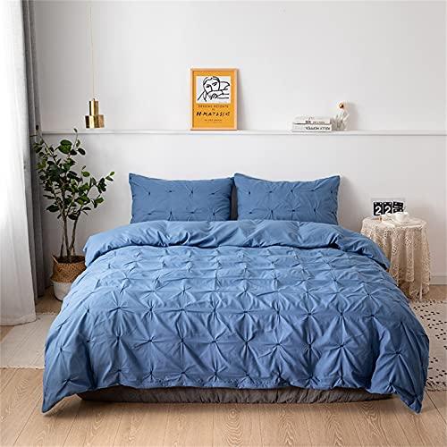 Ropa De Cama Textiles para El Hogar Funda Nórdica De Color Puro Cómoda Suave Y Duradera Fácil De Limpiar 230x260cm