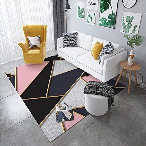 DJHWWD Living Room Carpets Carpet gray pink solid geometric pattern carpet resistance to mites Living Room Mats And Rugs Living Room Rugs Extra Large grey 40X60CM