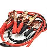 Cables de batería de Jersey de automóvil 2m 500amp Cable de Refuerzo Emergencia para automóviles Terminales de Vantruck Salto Starter Leads Clip Accesorios (Color : Red)