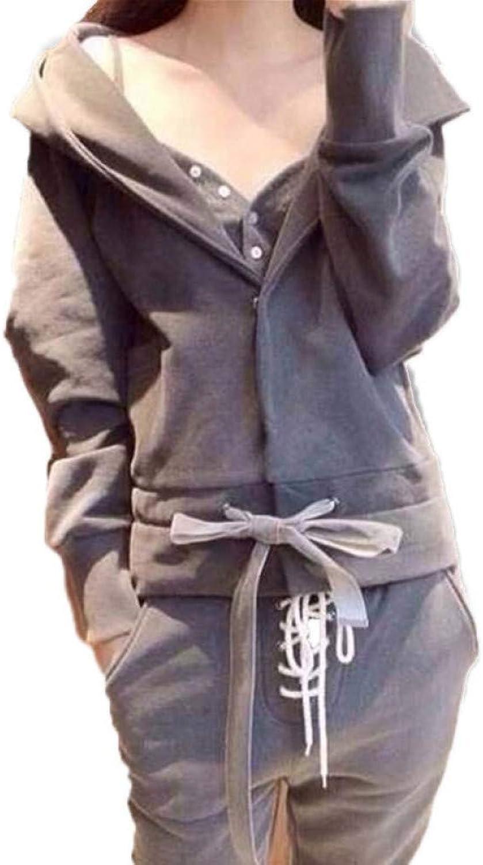 WYIZ Lssige Damen Sportbekleidung Mit Sweatshirt