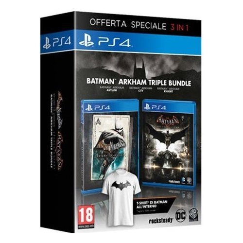 Warner Bros Batman: Arkham Triple Bundle, PS4 Speciale PlayStation 4 Inglese videogioco