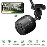 Videocamera di sicurezza esterna Veroyi, telecamera di sicurezza domestica 1080P WiFi IP di...