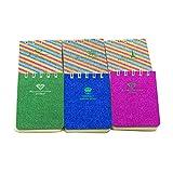 NUOBESTY portatile mini bobina quaderni vocabolario scrittura recitazione libro governato ...