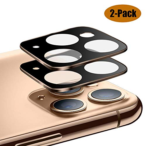 USJee 2-Pack Camera Lens Screen Protector Designed for iPhone 11 Pro/iPhone 11 Pro Max