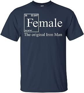 Female The Original Iron Man T-Shirt