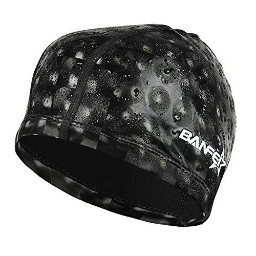 水泳キャップ 水泳帽 スイムキャップ 防水 スイミングキャップ PU塗装 水泳専門 伸縮性良い 男女適用 �K