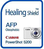 Healingshield スキンシール液晶保護フィルム Oleophobic AFP Clear Film for Canon Camera PowerShot S200 [2pcs]