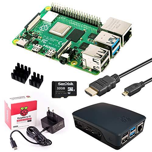 InnoConnect Raspberry Pi 4 (4GB RAM) Bundle 32GB, schwarz