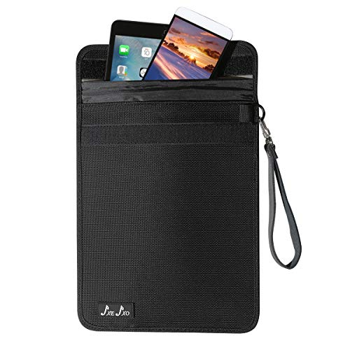 JXE JXO Faraday Bags, Cell Phone Signal Jammer, Shield Phone Tablets-...