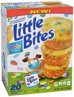 Entenmann's Little Bites Muffins 20 Pouches/80 Muffins Bonus 1 Individual Entenmann's Apple Pie (Party Cake)