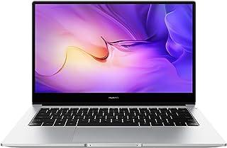 Huawei Matebook D - 14 Inch, 512GB SSD , 8GB RAM, AMD Ryzen 5 3500U, Radeon Vega 8 Graphics, Windows - Mystic Silver