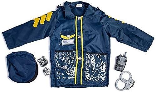 Dress Up America Little Boy Police Officer Role Play Dress Up Set 3-7 Years by Dress Up America