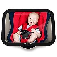 Nervös, weil Sie nicht sehen können, wie es Ihrem Kind hinten auf dem Kindersitz geht? Unser Bruchsicherer Spiegel ermöglicht stetigen Blickkontakt zu Ihrem Kind. Optimiertes Design: Achten sie auf die Größe beim Kauf des Spiegels! Durch unsere optim...
