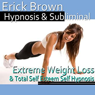Extreme Weight Loss Hypnosis     Exercise Motivation & Healthy Habits, Guided Meditation, Self-Hypnosis, Binaural Beats               By:                                                                                                                                 Erick Brown Hypnosis                               Narrated by:                                                                                                                                 Erick Brown Hypnosis                      Length: 3 hrs and 5 mins     177 ratings     Overall 3.6