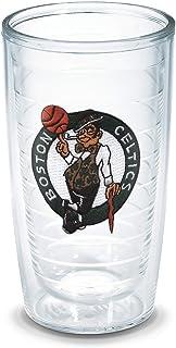 """Tervis """"NBA Boston Celtics"""" Tumbler, Emblem, 16 oz, Clear"""