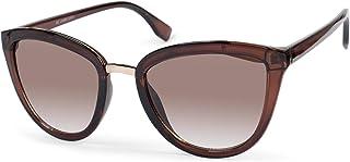 styleBREAKER - gafas de sol de mujer de ojos de gato con puente de metal, montura de plástico y glentes de policarbonato, forma de ojos de gato, «look retro» 09020093