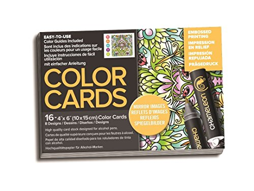 Chameleon Art Products, Chameleon Color Cards, 8 Designs - Mirror Images