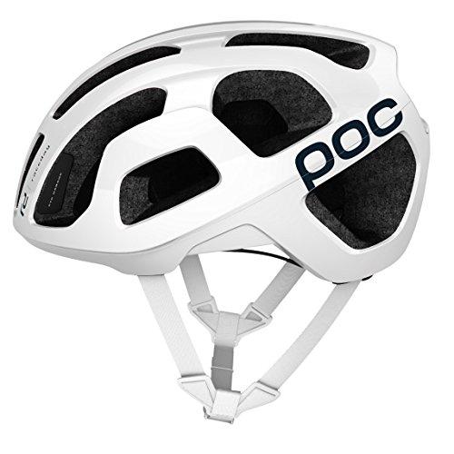 POC, Octal, Helmet for Road Biking, Hydrogen White, L