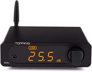Topping MX3 Built-in Bluetooth Receiver DAC Headphome Amp Digital Amplifier (Black)