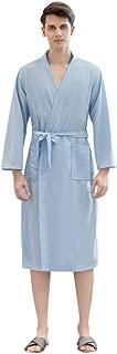Evening Comfy Womens Tempting Solid Pocket Waistband Bathrobe Gown Pajamas Long Sleepwear