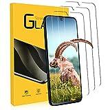 NONZERS - 3 piezas de cristal blindado para Samsung Galaxy A40 (SM-A405F), sin arañazos, huellas de dedos y aceite, 0,33 mm, dureza 9H, protector de pantalla HD, ultra resistente