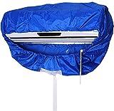 Aire Acondicionado Limpieza Cubierta muro Montado Aire Acondicionamiento Limpiador Polvo Lavado Impermeable Protector Bolso 2-3P
