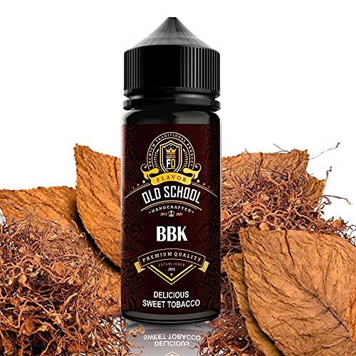 E-Liquid BBK tabac blond aux notes sucrées   Recharge Eliquide Français pour cigarette électronique - Sans nicotine ni tabac