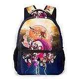 Jac_K SKEL_Lington - Mochila de viaje para la escuela, mochila de viaje, mochila de viaje, mochila de escuela, mochila de oficina, mochila de senderismo y portátil