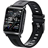 SUINSIST Smart Watch with Call, Fitness Tracker with Heart Rate Monitor, Activity Tracker with 1.54 Inch Touch Screen, IP67 Waterproof Pedometer Smartwatch with Sleep Monitor, for Android iOS Phones
